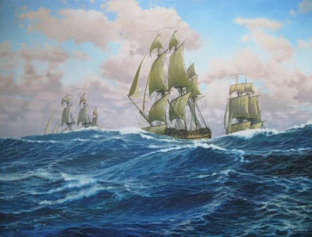 Vaisseau Le Héros  Avril 1781