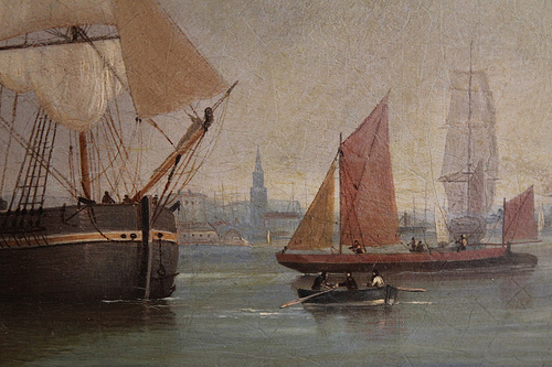 Dropping down the Thames, Blackwall Reach