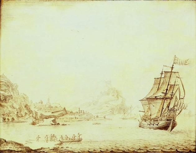 An English Flute off Satalia.