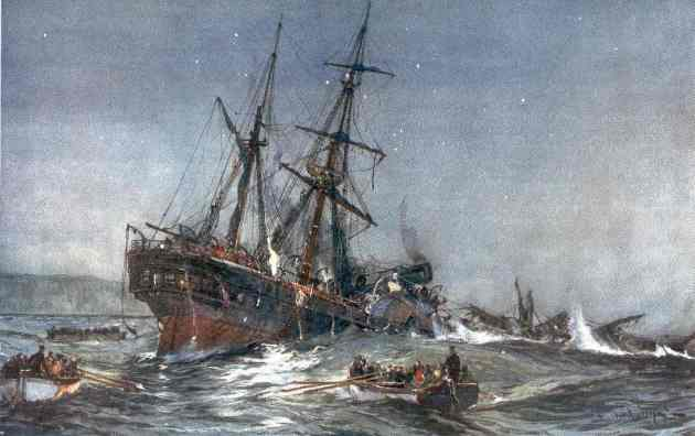 The Wreck of the Birkenhead 1852.
