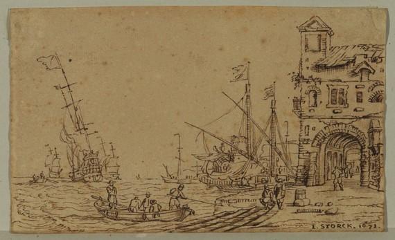 Italian seaport.