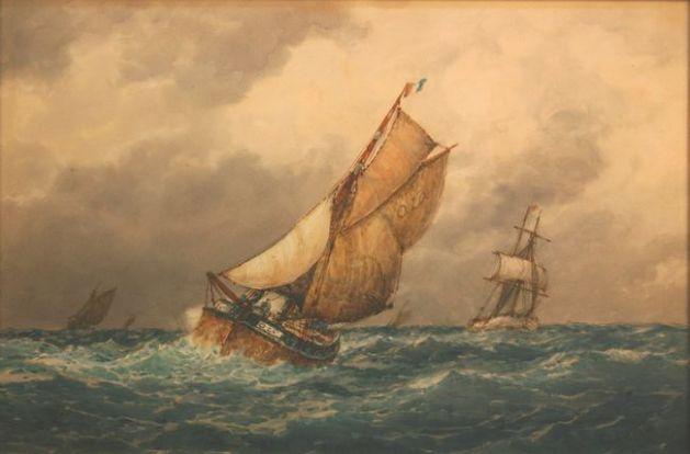 Ostend fisherman