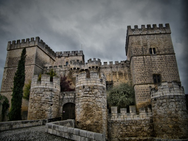 Castillo de Ampudia, Palencia. Spain.