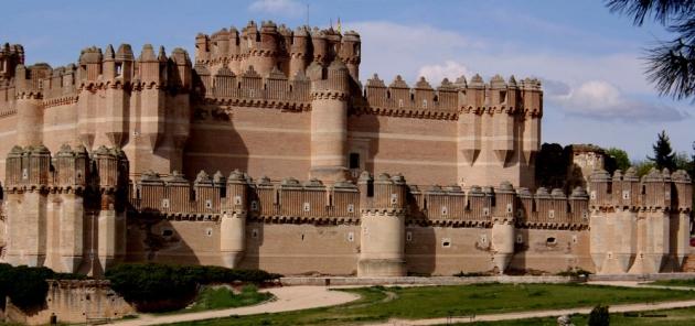 Castillo de Coca. Segovia. Spain