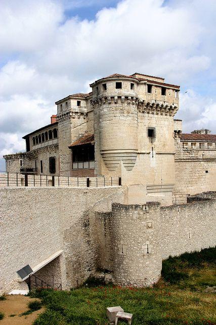 Castillo de los Duques de Alburquerque, Cuéllar. Segovía. Spain.