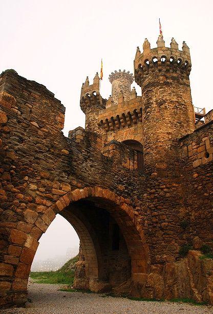 Castillo de Ponferrada, Galicia, España