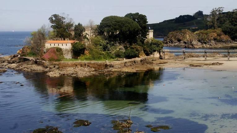 Castillo de Santa Cruz, Oleiros. La Coruña.