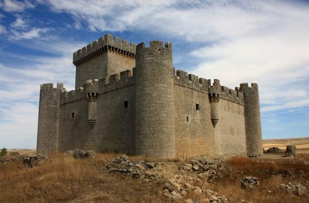 Castillo de Villalonso. Zamora. Spain.