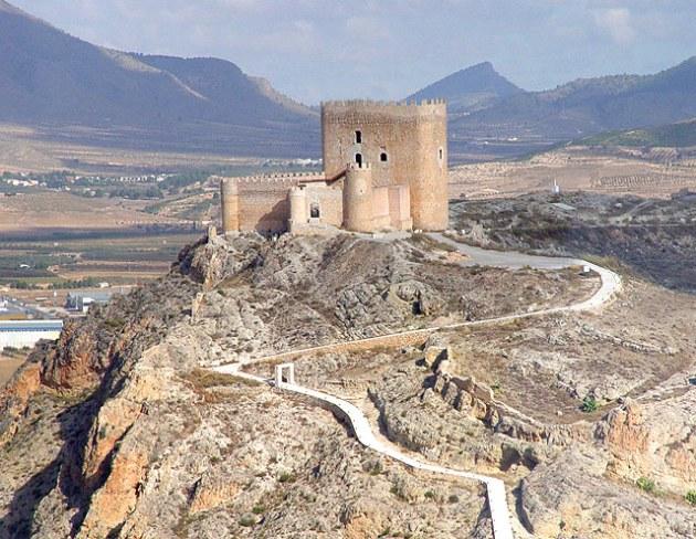 Castillo de Jumilla. Murcia. Spain.