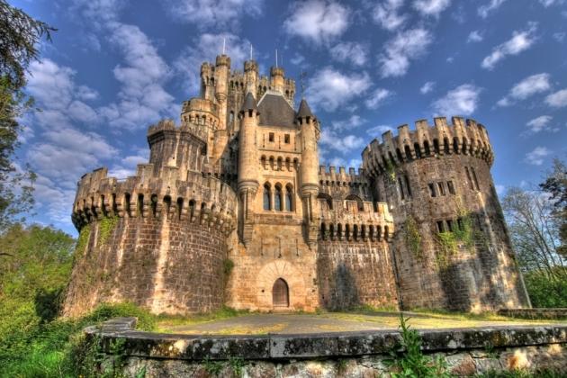Castillo de Butrón. Gatica. Vizcaya