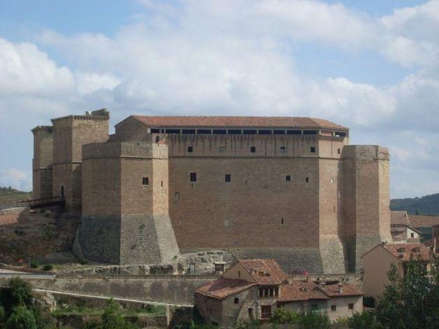Castillo de Mora de Rubielos. Teruel. Spain.