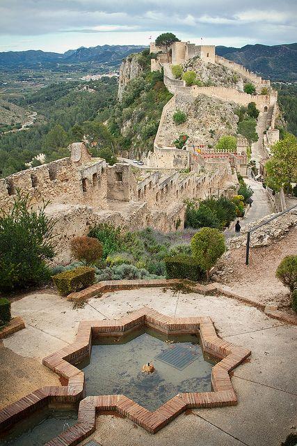 Castillo de Xàtiva, Valencia.