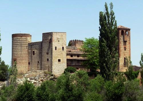 Castillo de Castilnovo. Segovia.