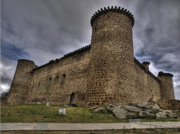 Castillo de_Valdecorneja. Barco de Ávila. Avila. Spain.