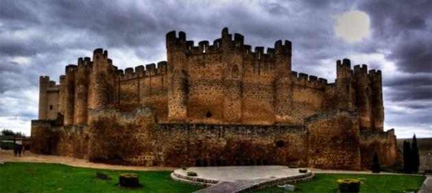 Castillo de Coyanza. Valencia de Don Juan. León. Spain.