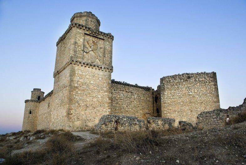 Castillo de Barciense. Toledo. Spain.