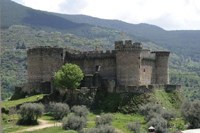 Castillo de Mombeltran Avila.