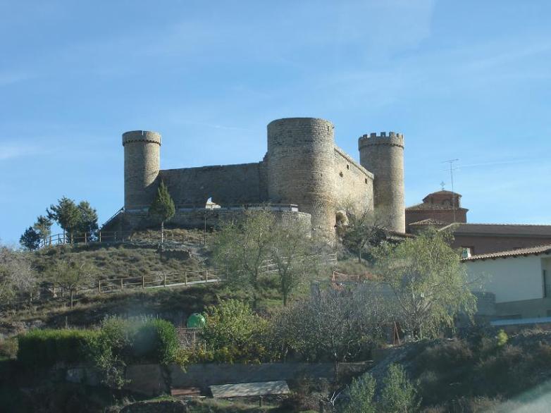 Castillo Fortaleza de Cornago. La Rioja.