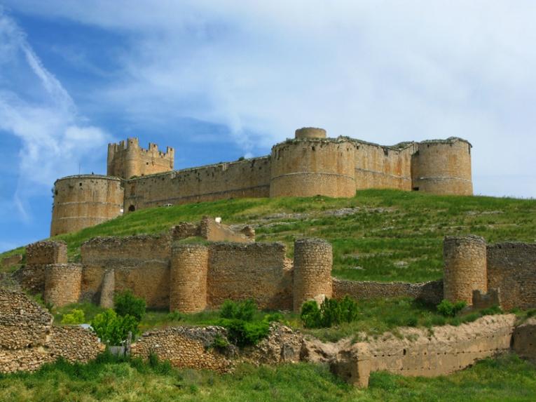 Castillo de Berlanga de Duero. Soria.