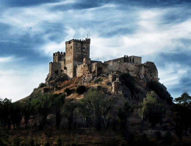 Castillo de Luna. Albuquerque. Badajoz