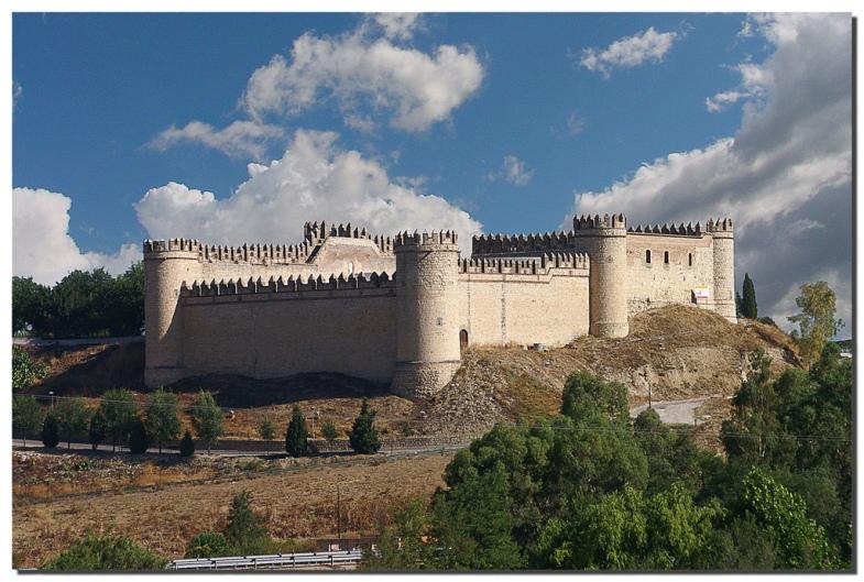 Castillo de la Vela. Maqueda. Toledo.