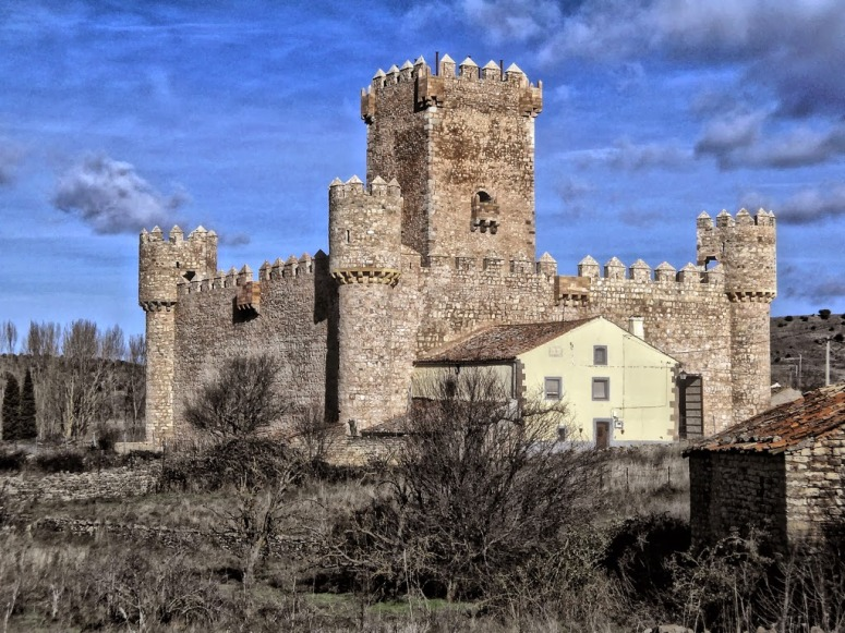 Castillo de Guijosa. Sigüenza. Guadalajara.