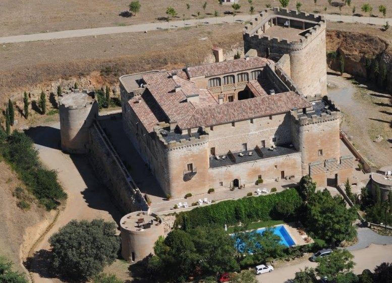 Castillo del Buen Amor. Villanueva del Cañedo. Salamanca.