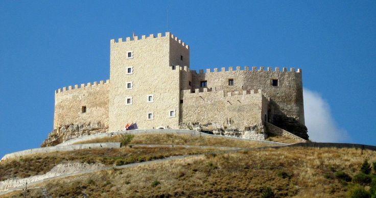 Castillo de Curiel del Duero. Valladolid.