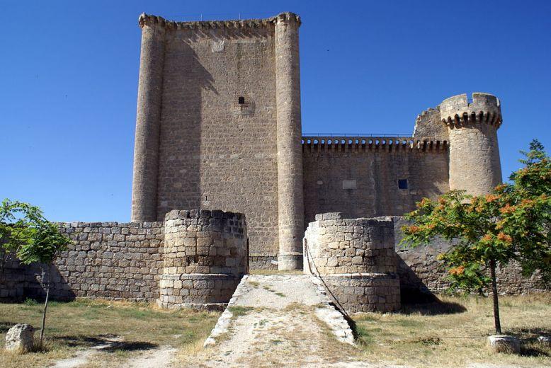 Castillo de Villafuerte de Esgueva. Valladolid.