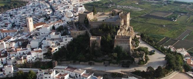 Castillo de Salobreña. Granada.