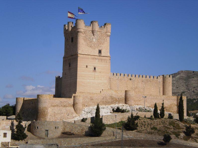 Castillo de la Atalaya. Villena. Alicante