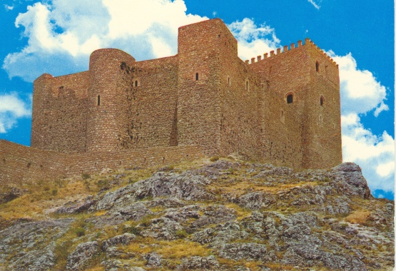 Castillo de Segura de la Sierra . Jaén.