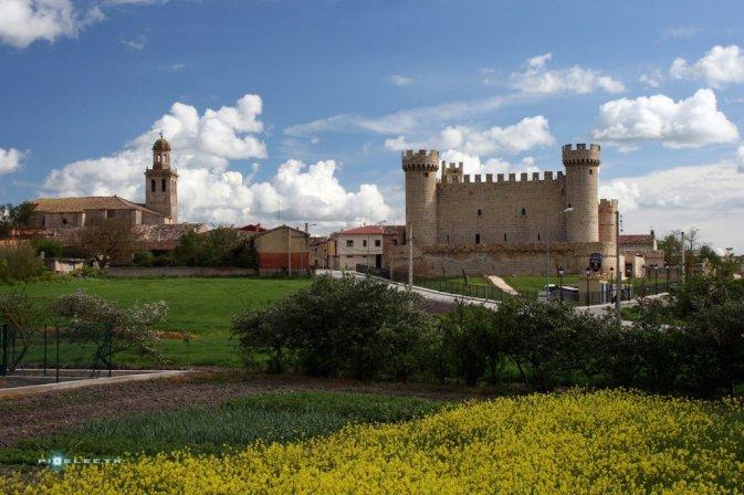 -----Castillo de Olmillos de Sasamón. BUrgos