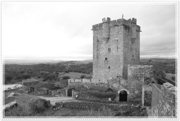 Castillo de San Felices de los Gallegos. Salamanca.