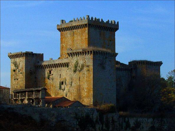 Castillo de Pambre . Palas del Rey. Lugo
