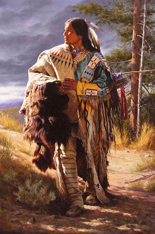 A Sioux Gentleman